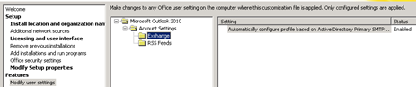 Deploy Office 2010 with integrated Language Packs