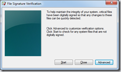 Verify the signature of all your drivers in Windows 7