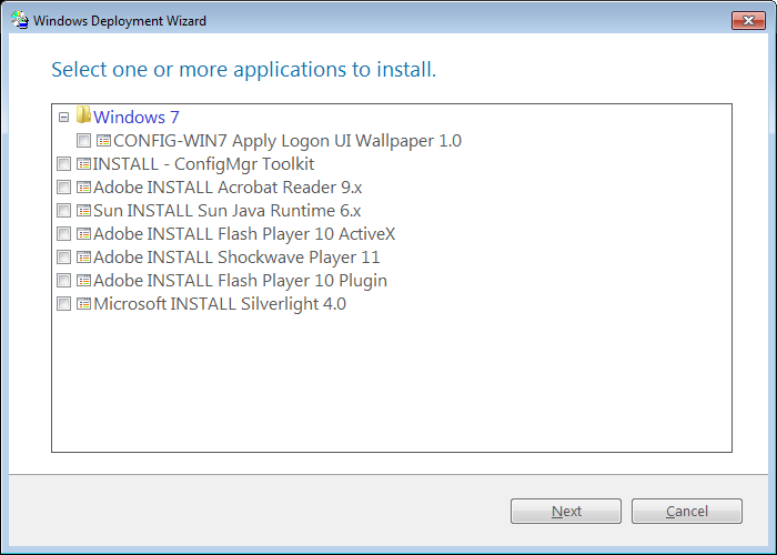 Deploying Applications with Microsoft Deployment Toolkit