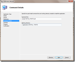 Install fonts to Windows 7 with Microsoft Deployment Toolkit