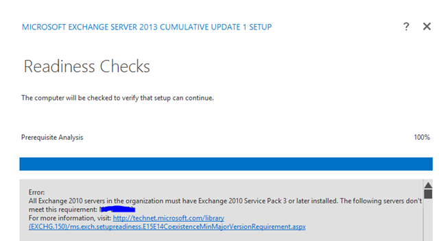 Installing Exchange 2013 CU1 in coexistence with Exchange 2010 – All
