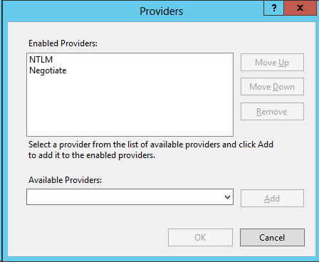Issues with NTLM authentication on Exchange 2013 after