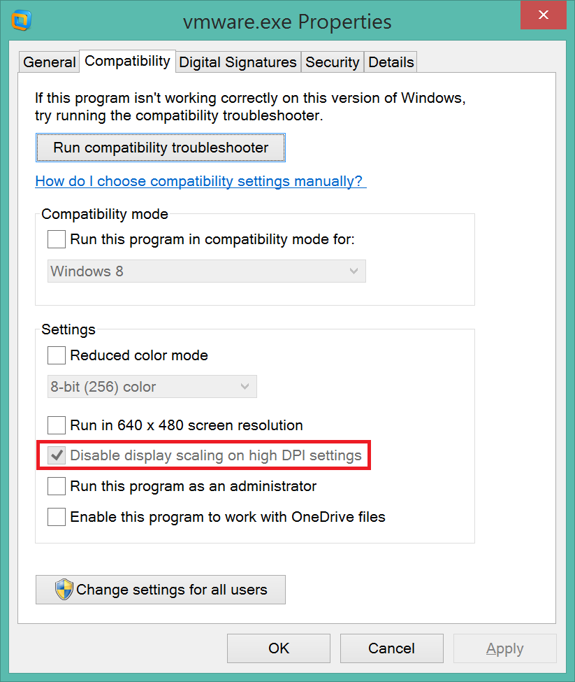Windows 8.1 – Vmware workstation and strange mouse behaviour