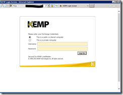 Publish Exchange with KEMP ESP – HTTP 403 Forbidden – The website requires you to log in