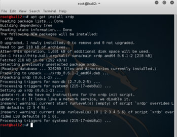 How to enable RDP in Kali Linux | MSitPros Blog