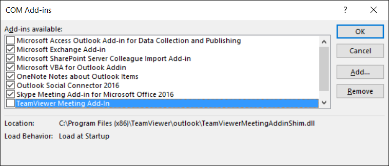 Outlook 2016 crashes without Internet connection | MSitPros Blog