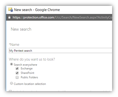 Compliance search – a pentesters dream | MSitPros Blog