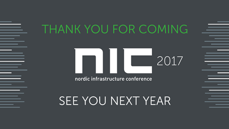 NIC 2017 – Slides, notes and a video