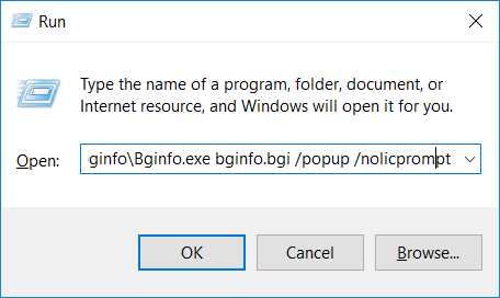 Bypassing Application Whitelisting with BGInfo | MSitPros Blog